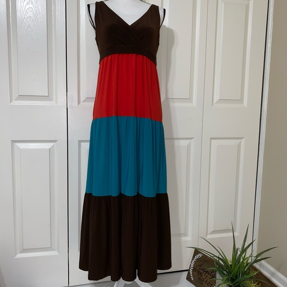 American Living Dresses & Skirts - American living tiered maxi dress